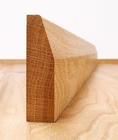 Chamfered European Oak Architrave Set