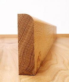 Round Edge European Oak Architrave Set