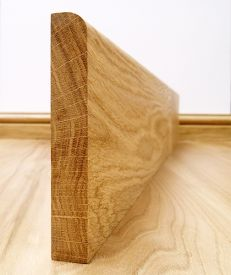 Fast Delivery Round Edge European Oak Skirting Board
