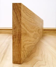 Solid European Oak Square Edge Skirting Board