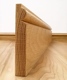 Solid European Oak Torus Skirting Board