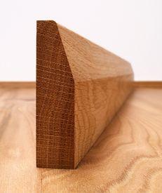Chamfered Fumed Dark Oak Architrave Set