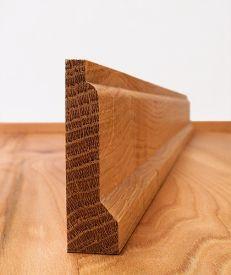 Fumed Dark Oak Lambs Tongue Architrave Set