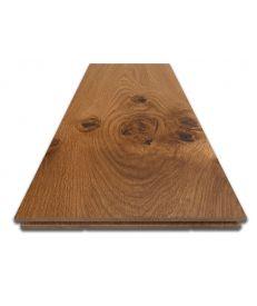 Fumed Provincial Grade Oak Flooring - Sample