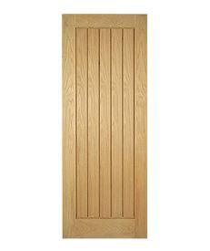 Internal Engineered Oak Mexicano Door