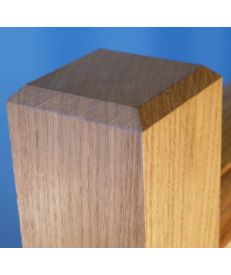 European Oak Newel Post 70 x 70mm