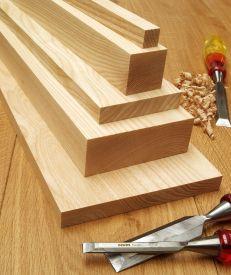 Planed Ash Timber