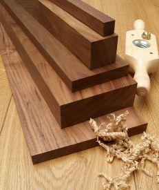 Planed American Black Walnut Timber