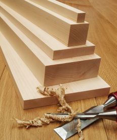 Planed Canadian Maple Timber