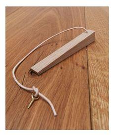 Solid Oak Privacy Lock