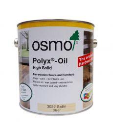 Osmo Polyx Hardwax Oil 3032 Satin Clear 2.5L
