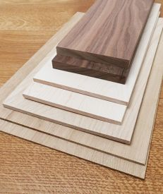 Thin Mixed Hardwoods