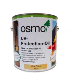 Osmo UV Protection Oil Extra 420 Clear Satin 2.5L