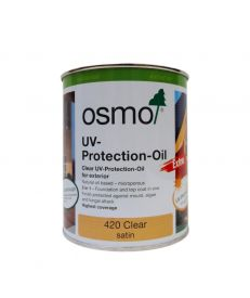 Osmo UV Protection Oil Extra 420 Clear Satin 750ml