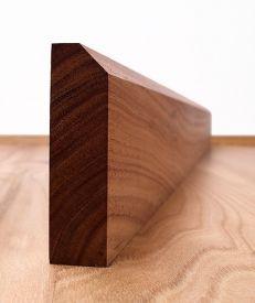 Solid Walnut 45° Chamfered Architrave Set