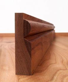 Solid Walnut Torus Architrave Set