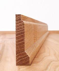 Solid American Oak Lambs Tongue Architrave Set