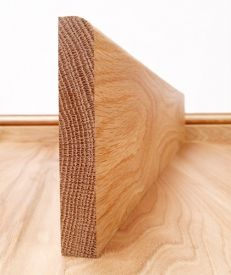 Solid American Oak Round Edge Skirting Board