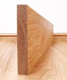 Solid American Oak Square Edge Skirting Board