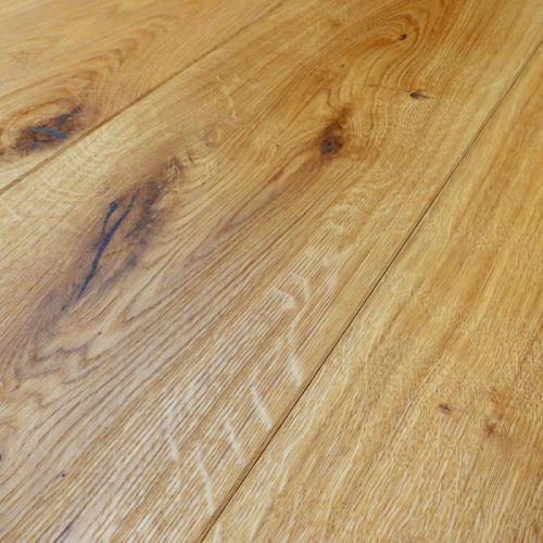 Brushed Engineered Character Oak Flooring 15mm - Sample
