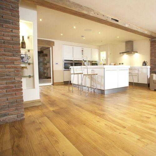 Brushed Character Grade Oak Flooring
