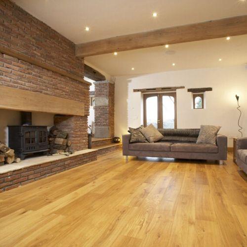 Brushed Classic Grade Oak Flooring