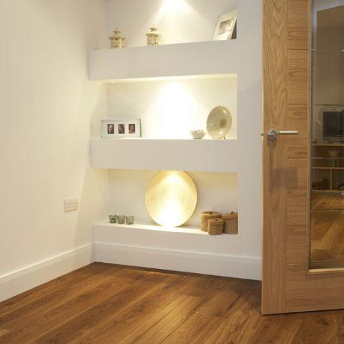 Fumed and Brushed Classic Grade Oak Flooring