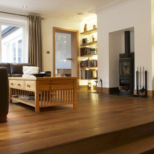 Fumed Engineered Classic Oak Flooring 15mm
