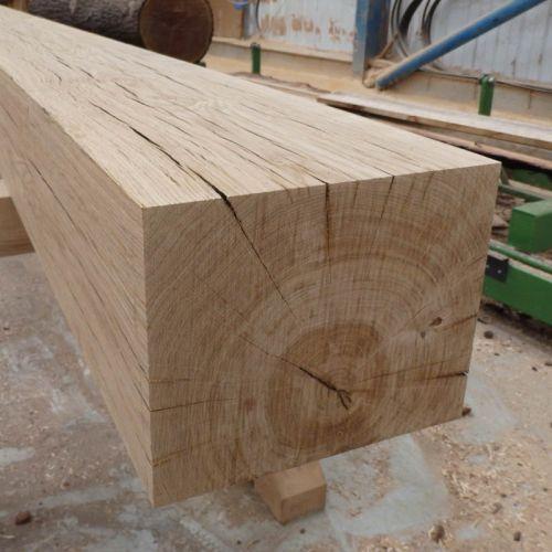Hand Planed Air Dried Oak Beam