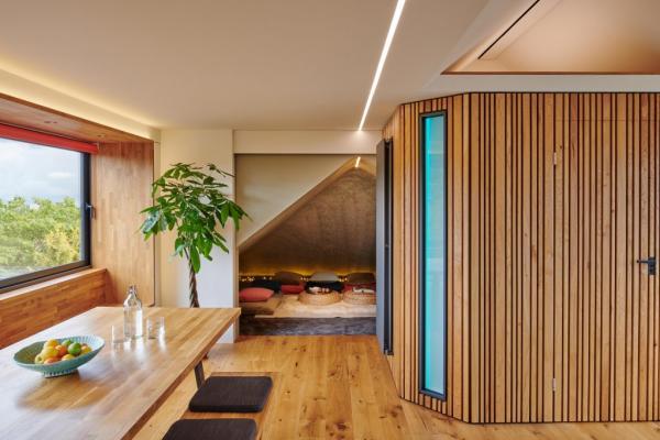 Stunning Loft Conversion using British Hardwoods Timber