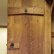 Solid Oak Dovetail Door