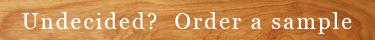 Order Flooring Sample