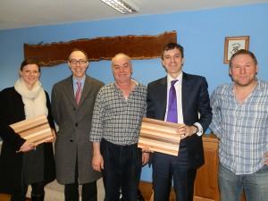 Julian Smith MP Visit to British Hardwoods