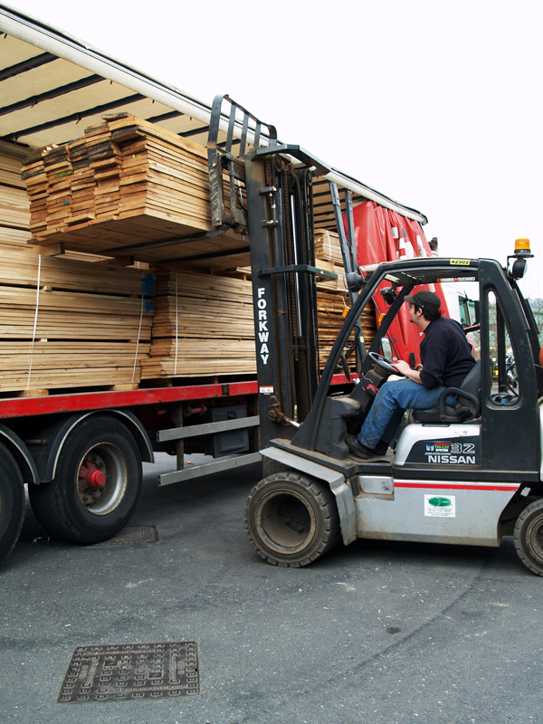 Timber delivery and removal