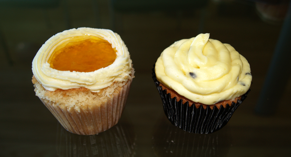 passionfruit cupcake bake off