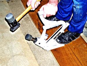 Secret Nailing Hardwood Flooring