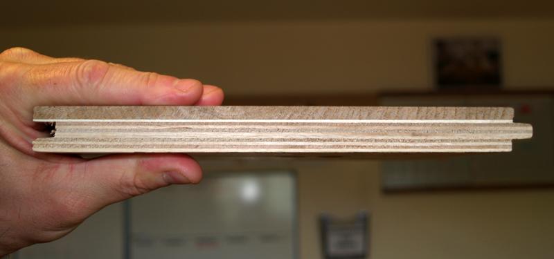 Profile close up of Engineered Wood Flooring