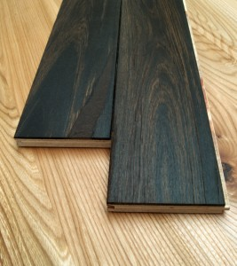 bog wood oak engineered flooring close-up