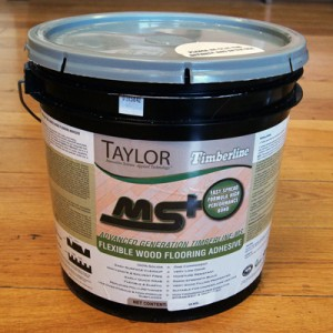 Taylor Timberline Flexible Wood Flooring Adhesive