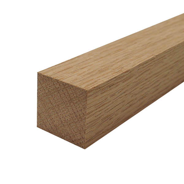 Planed oak timber square 32mm x 32mm
