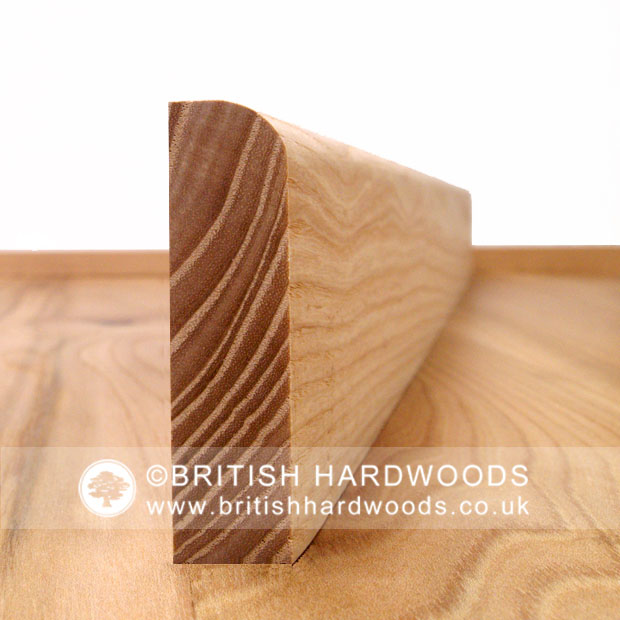 Special Offer Oiled Round Edge Skirting Board/Architrave in prime grade Ash