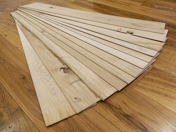 New Thin Wood Lamella Packs in Oak