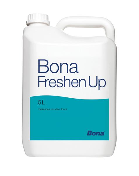 Bona Freshen Up topcoat for lacquered floors