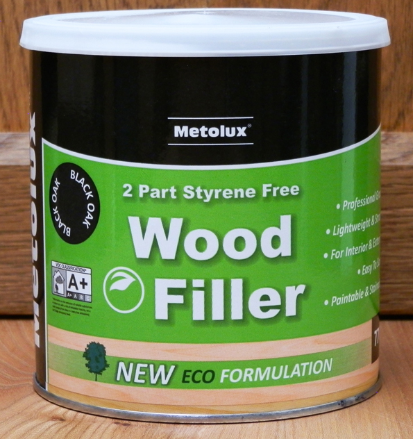 Metolux Wood Filler - Black Oak 770ml