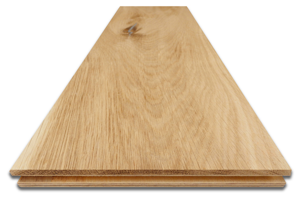 Unfinished Engineered Oak Flooring - now in stock