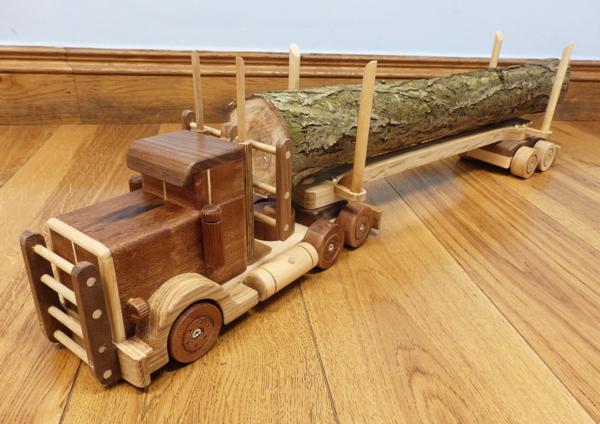 Hardwood Toy Truck