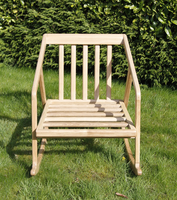 Hardwood Oak Rocking Chair