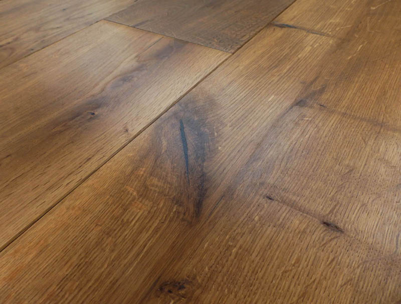 Fumed Provincial Grade Oak Flooring