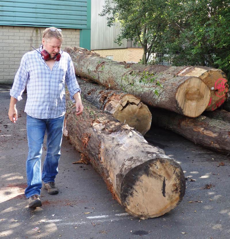 oak beams 15