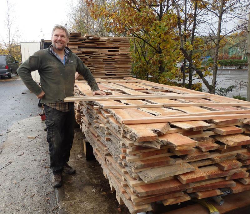 Tony and kiln dried yew boards